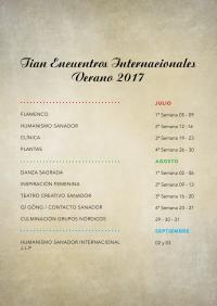 ENCUENTROS INTERNACIONALES DEL VERANO 2017