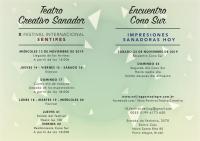 X FESTIVAL TEATRO CREATIVO SANADOR